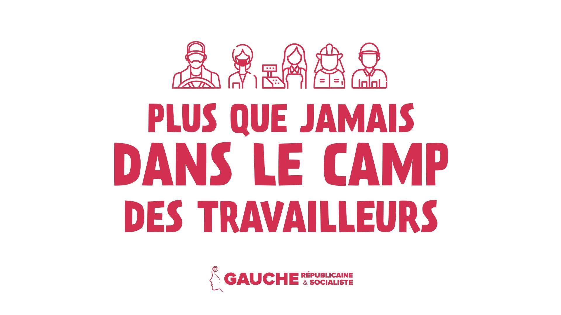 1er mai 2020 – Plus que jamais dans le camp des travailleurs – Communiqué